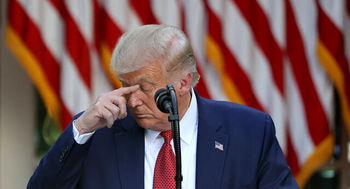 ترامپ در زیر زمین پنهان شد؟ /واکنش رئیس جمهور آمریکا به ادعای دادستان کل