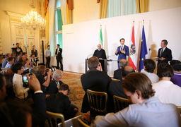 روحانی: دیدگاه ایران و اتریش درباره برجام مشترک است /تا پیروزی نهایی در کنار سوریه هستیم