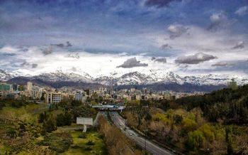 تهران هوای سالم را نفس میکشد