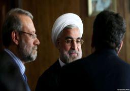 نامه 70 نماینده به لاریجانی: روحانی را به مجلس دعوت کنید + اسامی