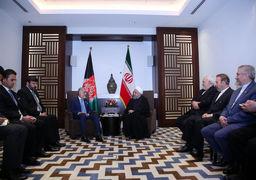 جزئیاتی از دیدار حسن روحانی با رئیس اجرایی دولت افغانستان