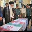 ماجرای عبای رهبر انقلاب که به همراه شهید حججی به خاک سپرده شد + عکس
