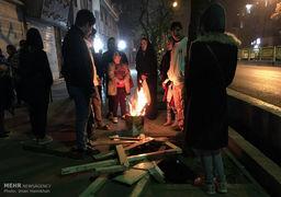 حال و هوای دیشب پس از زلزله تهران