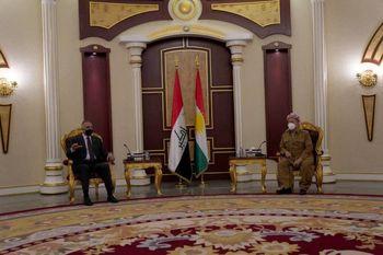 الکاظمی در دیدار بازرانی: اقلیم کردستان بخش اساسی از عراق است