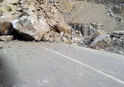 ریزش کوه در جاده هراز با تلفات جانی
