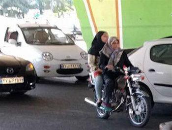 اتفاق جالب برای صدور گواهینامه موتورسیکلت بانوان در ایران