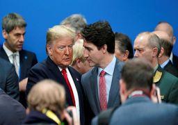 واکنش ترامپ به تمسخرش توسط نخستوزیر کانادا