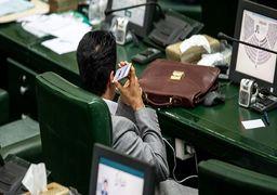 تصاویری از موبایل بازی نمایندگان در صحن علنی مجلس