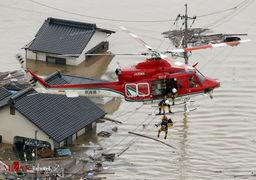 تصاویری از ژاپن پس از سیل