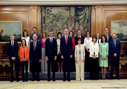 کابینه جدید اسپانیا؛ ۱۱ زن و ۶ مرد + عکس
