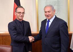 نتانیاهو در دیدار با وزیر خارجه آلمان: جامعه بینالملل علیه نفوذ ایران در سوریه و لبنان بایستد