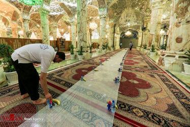 افطاری در حرم حضرت زهرا(س) 4