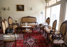 تصاویر خانه پدری فروغ فرخزاد