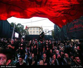 عزاداری شب عاشورای حسینی در امامزاده علیاکبر چیذر