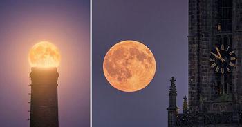 آموزش عکاسی از طلوع ماه + عکس