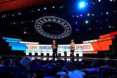 دور دوم مناظره انتخاباتی دموکراتها در دیترویت