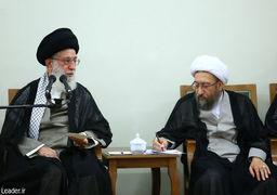 با حکم مقاممعظم رهبری، آملی لاریجانی جانشین مرحوم هاشمی شاهرودی در مجمع و شورای نگهبان شد