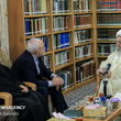 «مکارمشیرازی» در دیدار با «ظریف»: سفر رئیسجمهوری به عراق سیلی به دولتمردان آمریکا بود