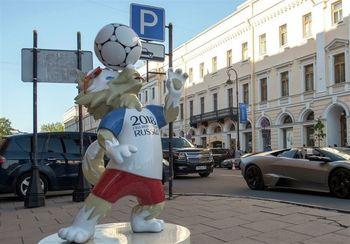 افتتاحیه جام جهانی فوتبال روسیه همراه با نمایش فوتبال و عشق
