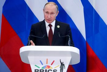 فرمان پوتین برای پاسخ قاطع به آزمایش موشکی آمریکا