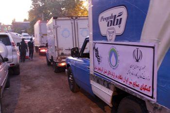 کمک صنایع شیر ایران « پگاه » به مناطق زلزله زده آذربایجان شرقی