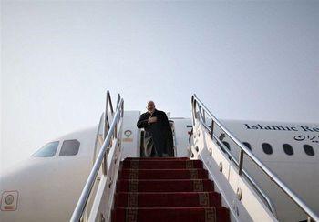 ظریف و هیئت همراه به تهران بازگشت