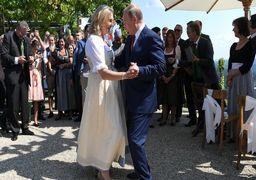 رقص و آواز پوتین در مراسم ازدواج وزیر خارجه اتریش + عکس