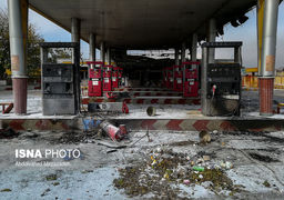 چه تعداد پمپبنزین در جریان ناآرامیها در تهران تخریب شد؟