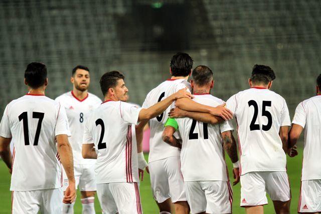 عکس تیم ایران در جام جهانی