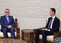دیدار رئیس کمیسیون امنیت ملی مجلس با بشار اسد