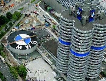 انتشار تصاویر اولین اتومبیل تمام الکتریکی BMW