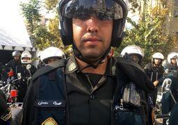 این هم لباس دوربین دار پلیس تهران بزرگ + عکس