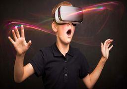 استفاده عجیب از عینک واقعیت مجازی در استادیوم فوتبال +عکس