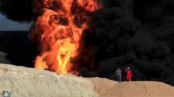 نیروهای بارزانی تاسیسات نفتی کرکوک را به آتش کشیدند