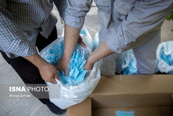 ۲۰ هزار ماسک غیربهداشتی در تهران کشف شد