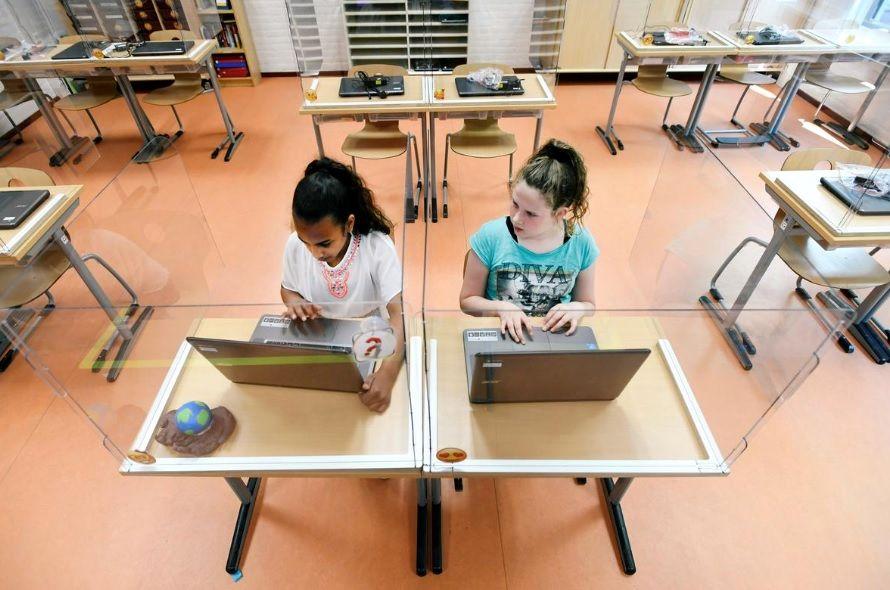 طرح جداسازی کرونا در مدارس هلند