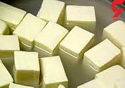 نحوه درست کردن پنیر خانگی فقط با دو ماده غذایی
