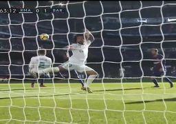 خلاصه بازی رئالمادرید 0 - بارسلونا 3 / درخشش مسی + فیلم
