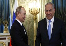 رایزنی نتانیاهو و پوتین در مورد معامله قرن