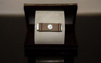 اعطای بالاترین نشان نظامی در حوزه پشتیبانی رزم به سرلشکر باقری +عکس