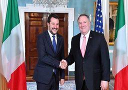 رایزنی پمپئو با معاون نخستوزیر ایتالیا علیه ایران