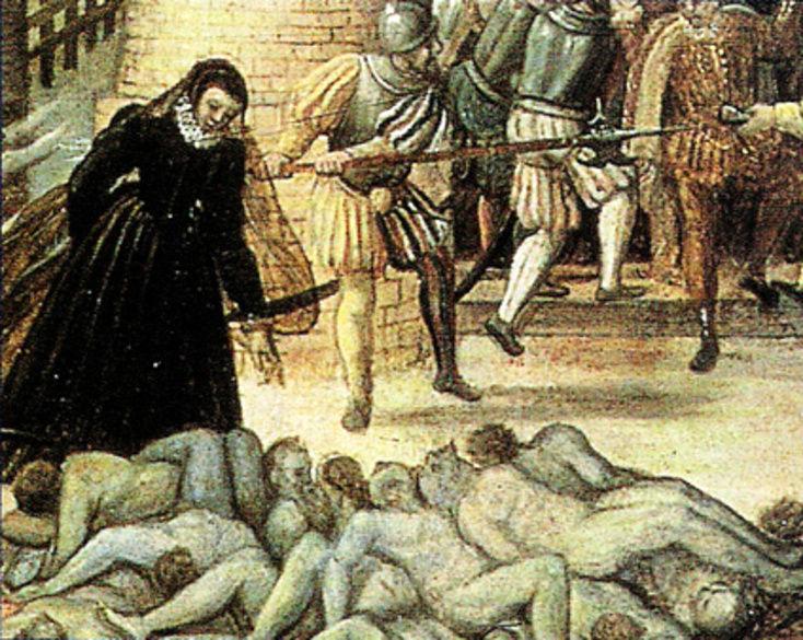 زنی که بزرگترین نسل کشی مذهبی را راه انداخت/ وقتی شکم زنان حامله دریده شد