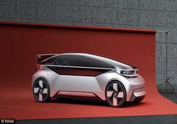 خودروی «ولوو» به اتاق خواب تبدیل میشود! +عکس