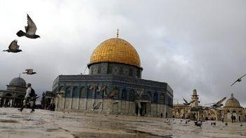 اماراتی ها در مسجدالاقصی نماز خواندند