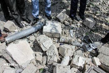 اصابت خمپاره های جنگ قره باغ در خاک ایران