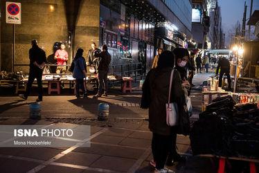 سایه سنگین کرونا بر خیابانهای تهران   تصاویر