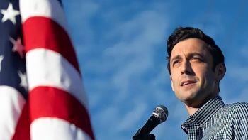 پیروزی دومین نامزد دموکراتها در جورجیا در انتخابات سنا