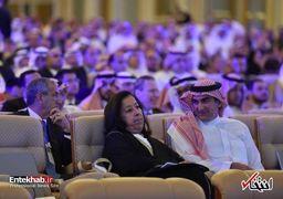 صندلیهای خالی تحریمکنندگان کنفرانس سرمایهگذاری عربستان سعودی+تصاویر