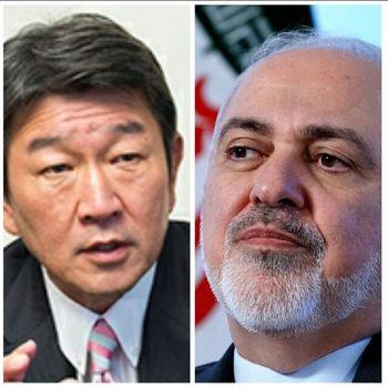 گفتوگوی وزرای خارجه ایران و ژاپن با محوریت لزوم  لغو تحریمهای واشنگتن علیه تهران