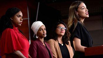 حمله دوباره ترامپ به «مربع زنان پیشرو»